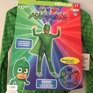 New PJ Masks Gecko Costume